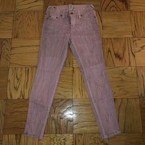 True Religion Pink Jeans